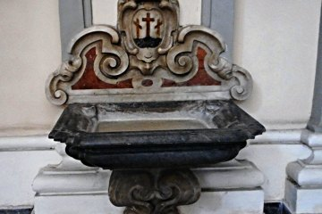 holy water font