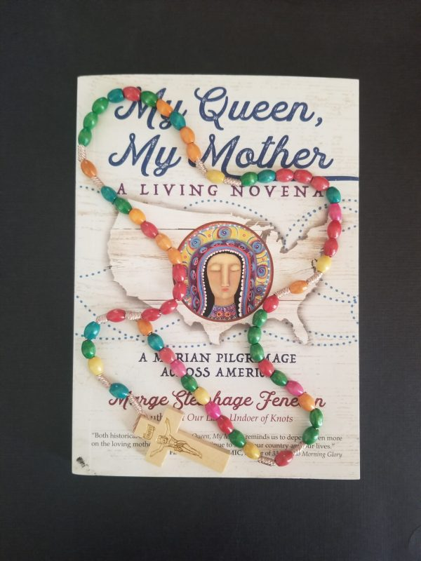 My Queen My Mother Book and Rosary