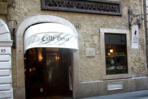 Caffe Greco Rome Photo by Margi Miklas