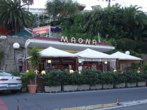 San Remo restaurant - Margie Miklas