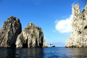 Approaching Capri - Photo by Margie Miklas