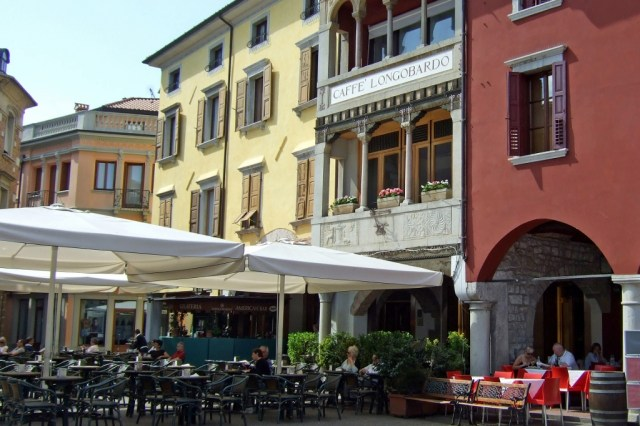 Caffe Longobardo in Cividale, Italy