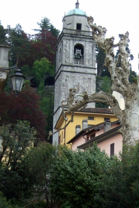 Church of San Giacomo in Bellagio, Italy