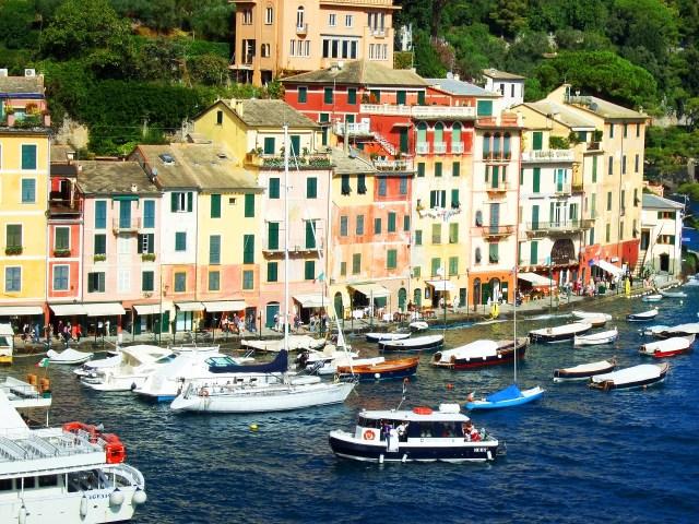 Portofino harbor view