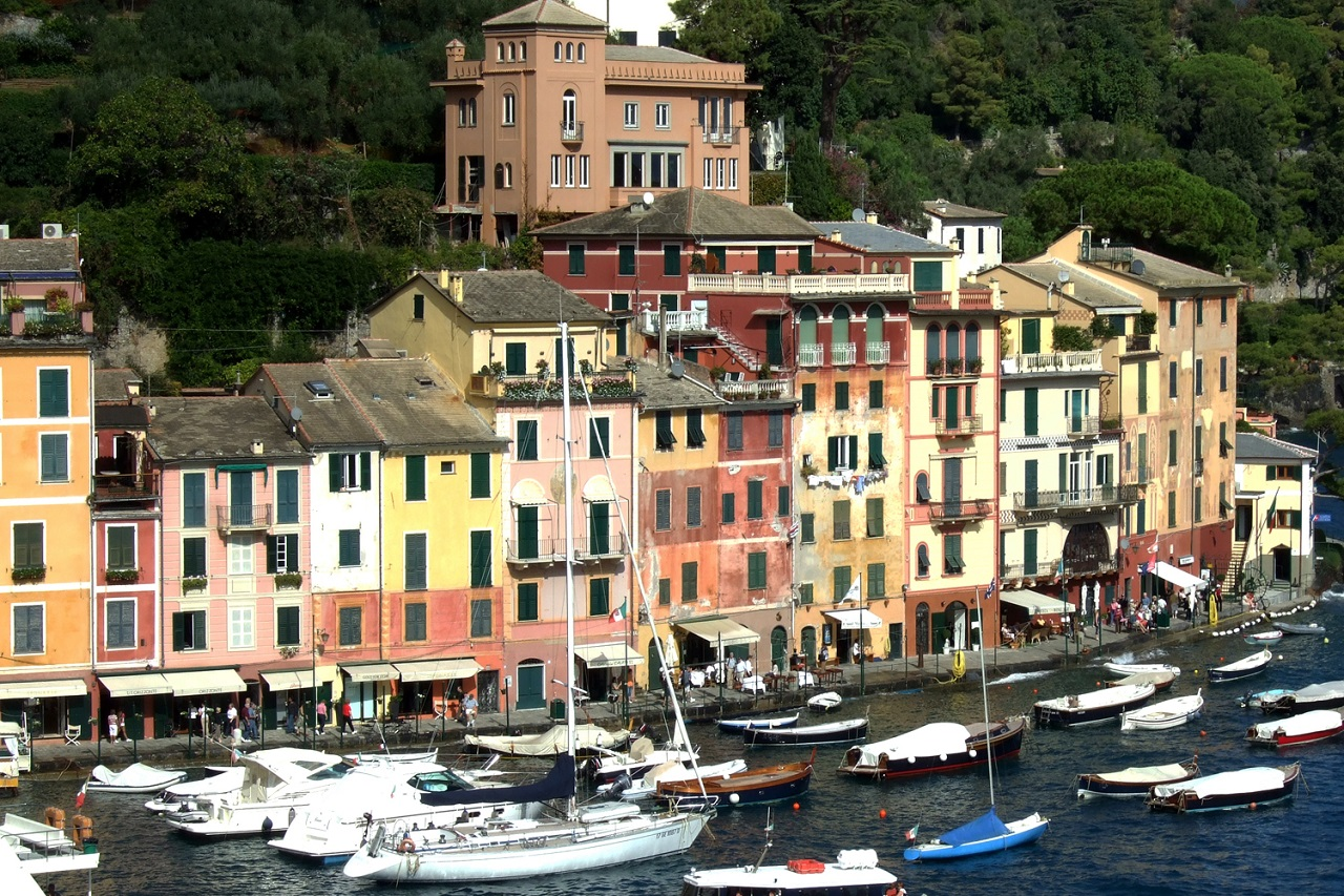 Italy Travel – Photos from Portofino