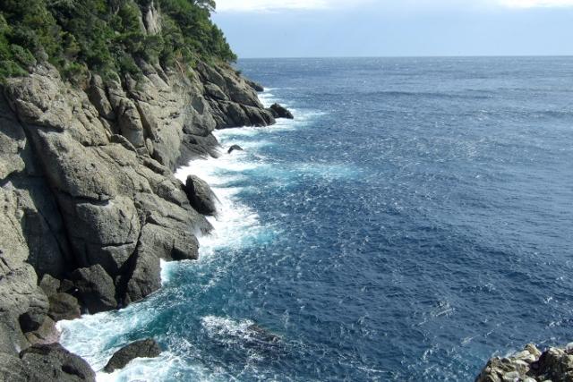 Off the coast of Portofino