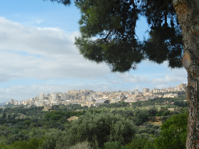 A view of Agrigento