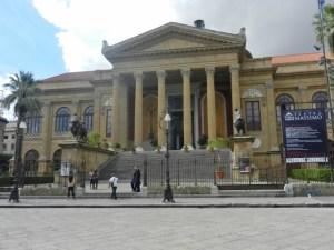 Teatro Massimo in Palermo Photo by Margie Miklas