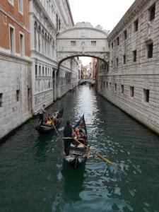 Bridge of Sighs in Venice, Italy ~ photo by Margie Miklas