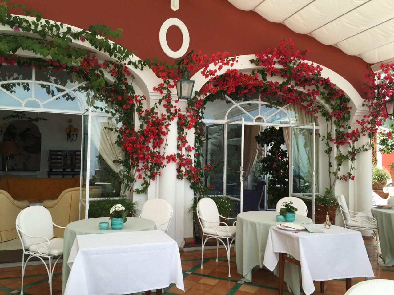 Lunch at La Sponda Restaurant