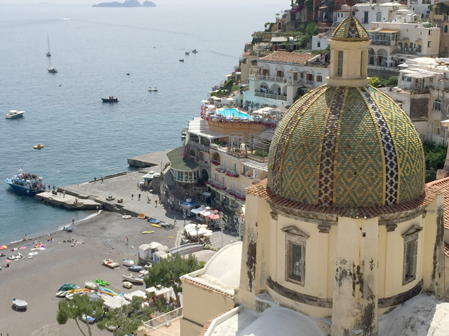 Positano -- Photo by Margie Miklas