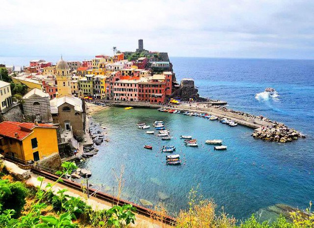 Cinque Terre Photo by Hannah Babineau