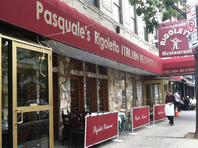 Arthur Avenue Bronx Rigoletto Restaurant Photo by Margie Miklas
