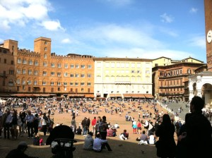 Siena campo Photo by Margie Miklas