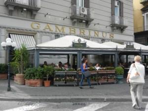 Gran Caffè Gambrinus in Naples Photo by Margie Miklas
