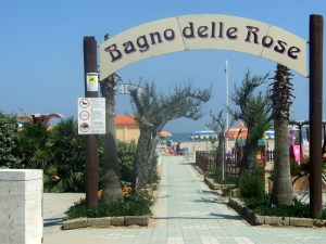 Rimini Bagno delle Rose Beach Photo by Margie Miklas