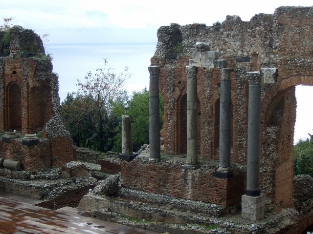 Taormina Greek Theatre Phot by Margie Miklas