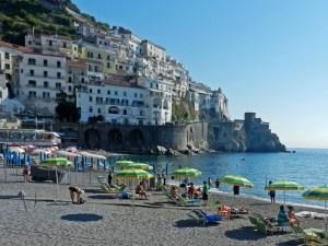 Amalfi Beach Photo by Margie Miklas