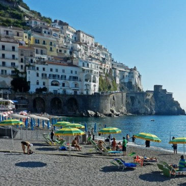 The Beach at Amalfi
