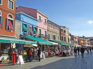 Burano streets Photo by Margie Miklas