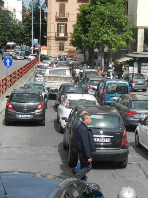 Traffic in Italy Photo by Margie Miklas