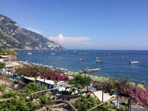 Positano View from Room Photo by Margie Miklas