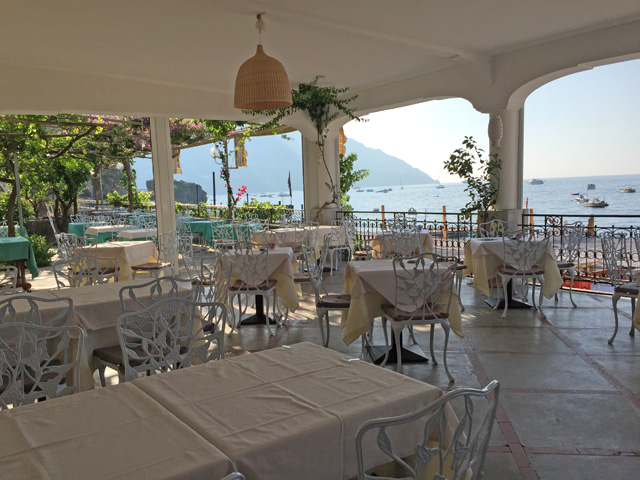 Hotel Pupetto Terrace and Ristorante - Photo by Margie Miklas