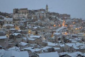 Snow in Matera by Francesco Morelli https://twitter.com/teorema57m