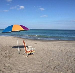 Hutchinson Island beach photo by Margie Miklas