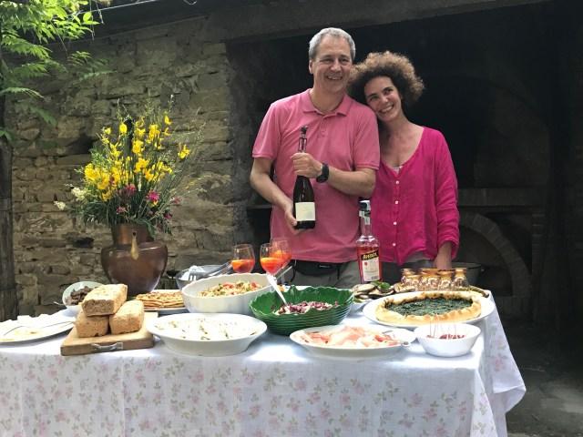 Luisa and Piero Photo by Margie Miklas