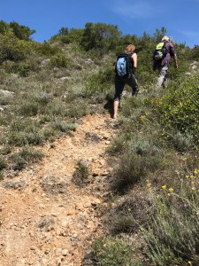Hiking in Tuscany at Montestigliano Photo by Margie Miklas