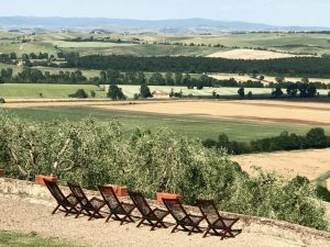 Montestigliano view Photo by Margie Miklas