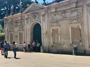 Piazza dei Cavallieri di Malta in Rome Photo by Margie Miklas