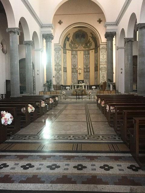 Rome Church Photo by Margie Miklas