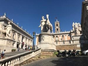 Rome Marcus Aurelio statue Photo by Margie Miklas