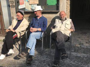 Men in Mercatello sul Metauro Photo by Margie Miklas
