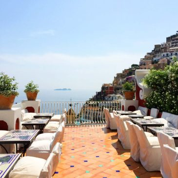 View from Le Sirenuse, Positano