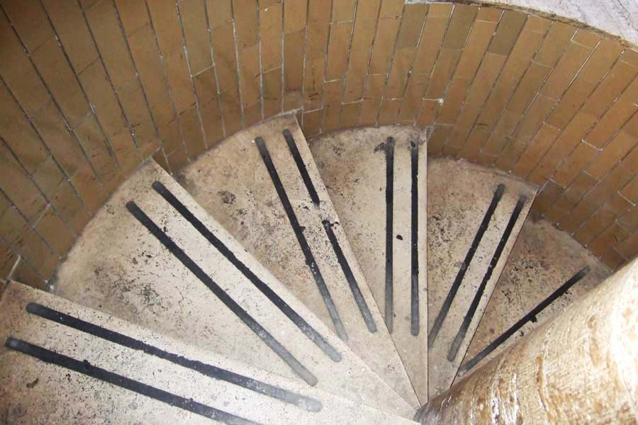 Vatican Steps to the Cupola