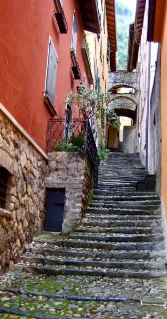 Steps in Varenna Photo by Margie Miklas