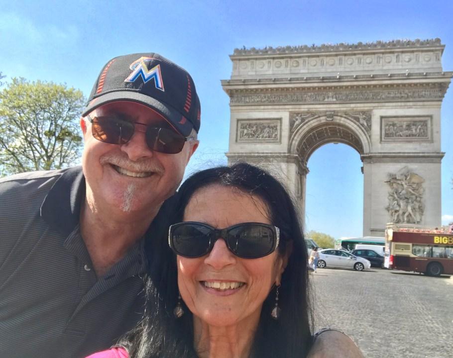 Impressions of Paris Arc di Triomphe Photo by Margie Miklas