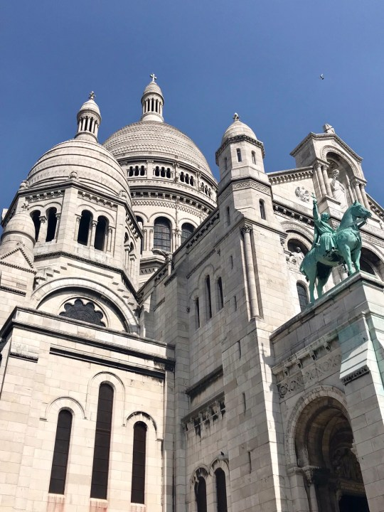Impressions of Paris Sacre Couer photo by Margie Miklas