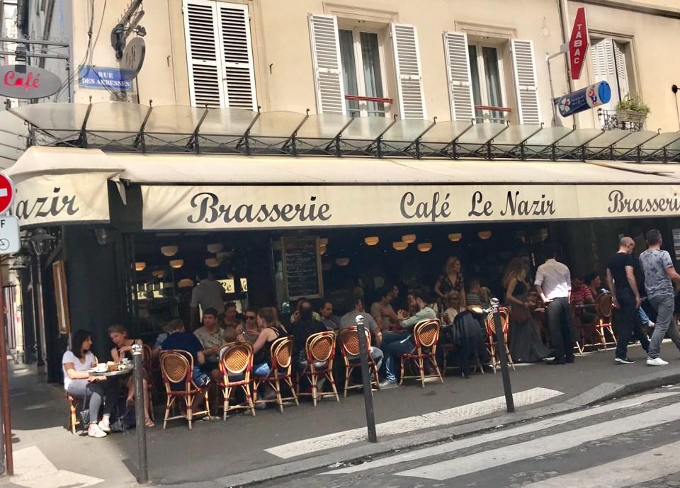 Lunch in Paris Photo by Margie Miklas