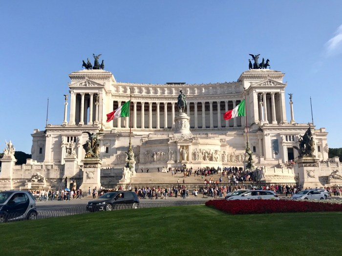 Vittorio Emanuele II in Rome Photo by Margie Miklas