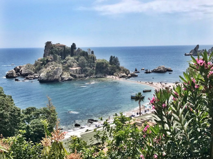 Isola Bella in Taormina, Sicily Photo by Margie Miklas