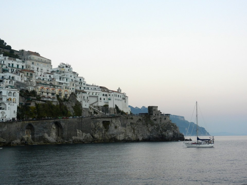 Twilight in Amalfi Photo by Margie Miklas