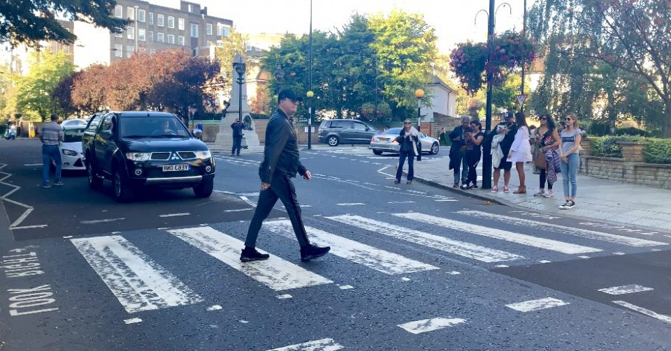 Abbey Road London photo by Margie Miklas