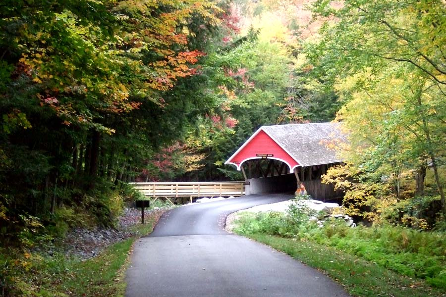 New England covered bridge Photo by Margie Miklas