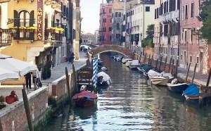 Venice footbridge Photo by Margie Miklas