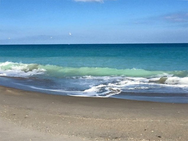 Waves Hutchinson Island Florida Photo by Margie Miklas