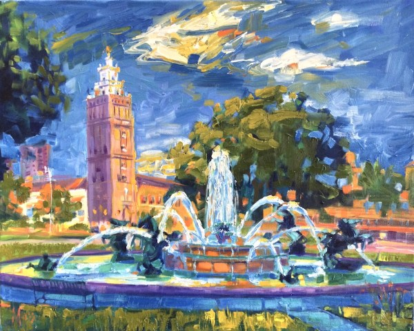 Kansas City Artist Oil Painting